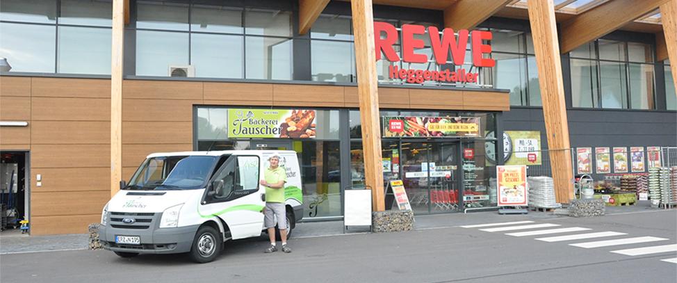 Bäckerei Tauscher Filiale im REWE-Markt